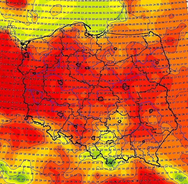 Grecja płonie. Polska powinna martwić się innym zjawiskiem pogodowym. Winowajcą antycyklon