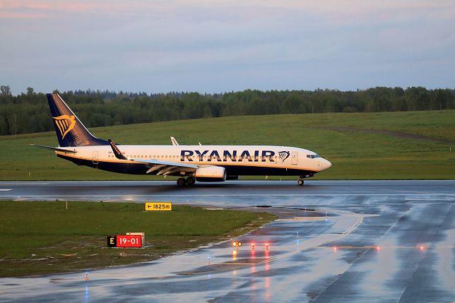Samolot wylądował w Wilnie o godz. 20.25