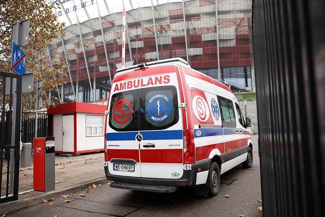 Koronawirus w Warszawie. Kolejni pacjenci w szpitalu na Stadionie Narodowym