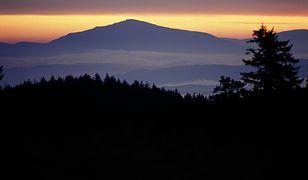 Babia Góra widziana z Gorców