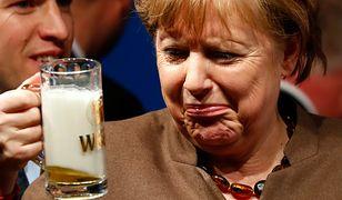 Angela Merkel podczas kampanii wyborczej