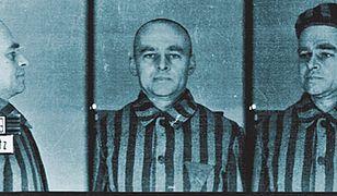Zdjęcie obozowe rotmistrza Pileckiego