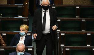 Awantura w Sejmie. Jarosław Kaczyński do opozycji: narażacie na śmierć mnóstwo ludzi, jesteście przestępcami