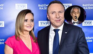 Jacek Kurski zaprosił słynnego śpiewaka. Jego żona zdradziła powód