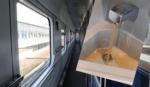 Pasażer był w szoku. To, co zobaczył w pociągu go obrzydziło