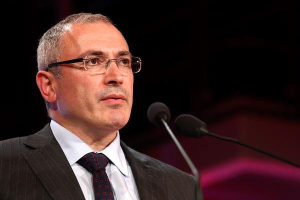 Rosyjski dysydent i przedsiębiorca Michaił Chodorkowski