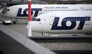 Samolot LOT zawrócony na lotnisko Chopina