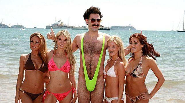 Turyści w strojach Borata aresztowani w Kazachstanie