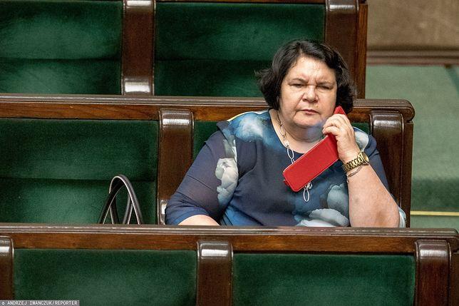 Anna Sobecka była jedną z autorek uchwały, która podzieliła polityków opozycji