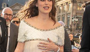 Keira Knightley w ciąży. Aktorka pokazała zaokrąglony brzuszek