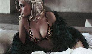 Kylie Jenner w seksownej bieliźnie