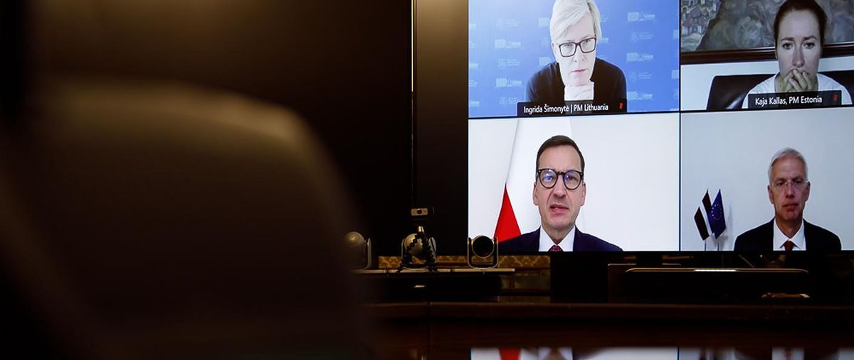 Kryzys na granicy z Białorusią. Jest oświadczenie Polski, Litwy, Łotwy i Estonii
