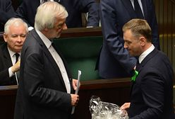 """Nitras z ofertą dla Terleckiego. """"Siadaj pajacu"""" i """"wyciągnięta dłoń"""""""