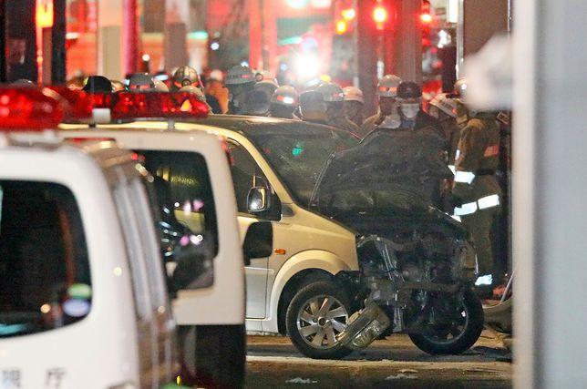21-latek wjechał autem w tłum ludzi w Tokio