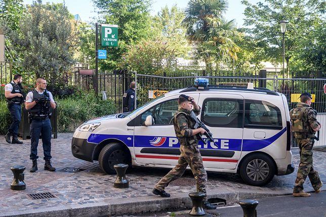 Akcja policji w stolicy Francji.