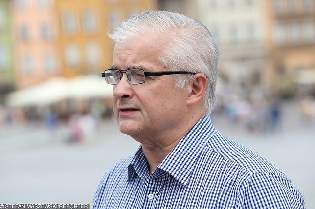 """Włodzimierz Cimoszewicz jest """"jedynką"""" na liście Koalicji Europejskiej do PE"""