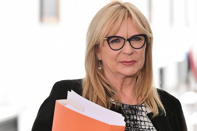 W październiku Małgorzata Gosiewska po raz drugi została wicemarszałkiem Sejmu