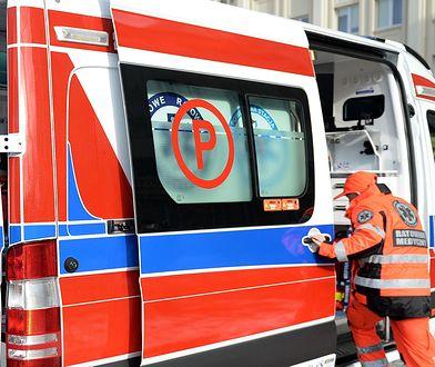 9-latka potrącona przez ciężarówkę została przewieziona do szpitala