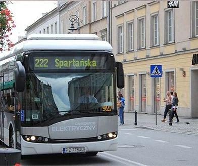 Po Warszawie będą jeździć autobusy elektryczne