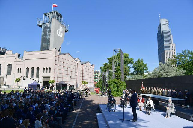 Początek obchodów 78. rocznicy wybuchu Powstania Warszawskiego (zdjęcie ilustracyjne)