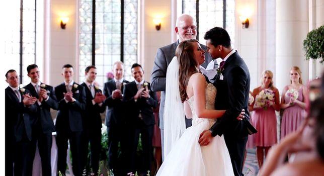 Cieszyli się małżeństwem tylko kilka miesięcy, mąż zmarł na raka