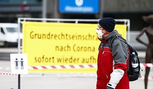 Koronawirus w Niemczech. Pierwsze miasto wprowadza nakaz noszenia maseczek