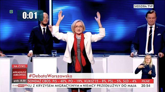 Stan debat wyborczych w Polsce drastycznie spada.