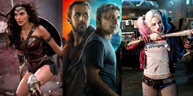 """Wonder Woman"", ""Blade Runner 2049"", ""Suicide Squad"""