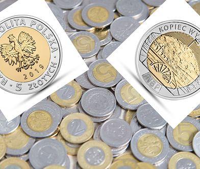NBP wypuścił nowe monety. Tymi pięciozłotówkami zapłacimy w sklepie