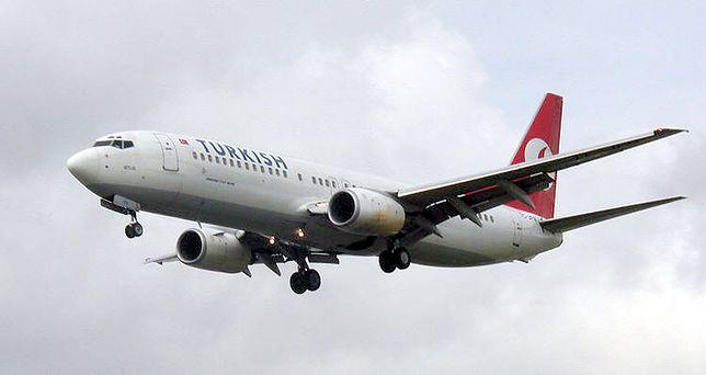 Samolot musiał awaryjnie lądować w Warnie