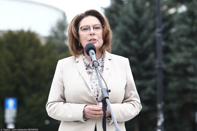 Małgorzata Kidawa - Błońska wzywa do bojkotu wyborów prezydenckich
