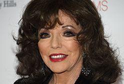 """Joan Collins na planie popularnego serialu. Grała w kultowej """"Dynastii"""", teraz pojawi się w """"American Horror Story"""""""