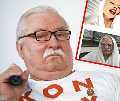 Lech Wałęsa zachwycił internautów. Jego zdjęcie stało się memem