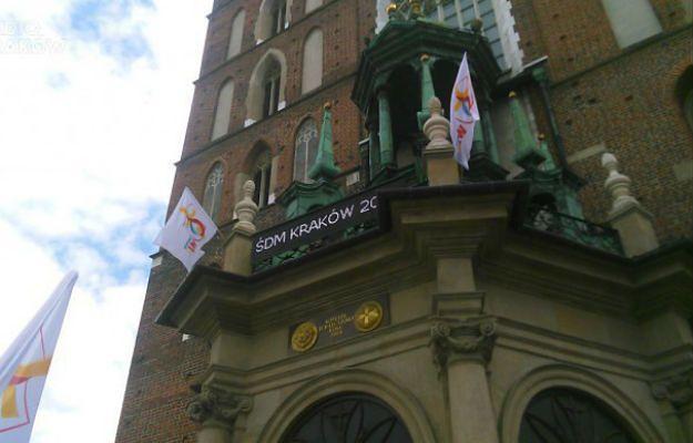 Zegar odliczający dni do ŚDM w Krakowie pozostanie na swoim miejscu