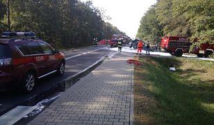 Do wypadku doszło w miejscowości Celestyny obok Turka