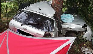Do wypadku doszło w Krukowie, na trasie z Chorzele-Myszyniec