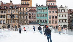 W wielu miastach uruchomiono lodowiska