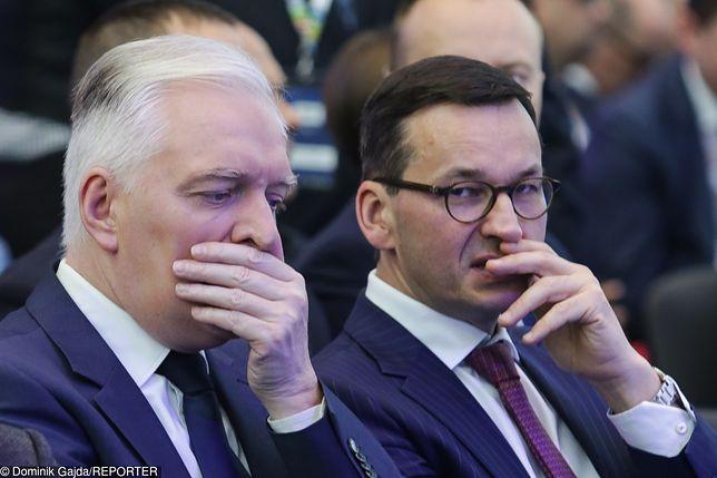 Zgrzyt w rządzie. Jarosław Gowin kontra Mateusz Morawiecki