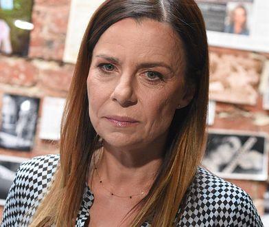 Agata Kulesza czeka na kolejną rozprawę w sądzie
