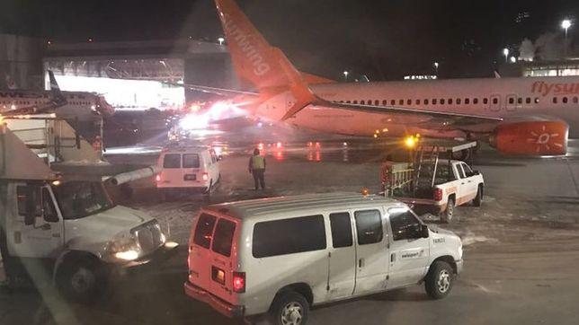 Ewakuowano wszystkich pasażerów