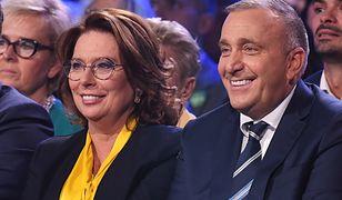 Małgorzata Kidawa-Błońska i Grzegorz Schetyna