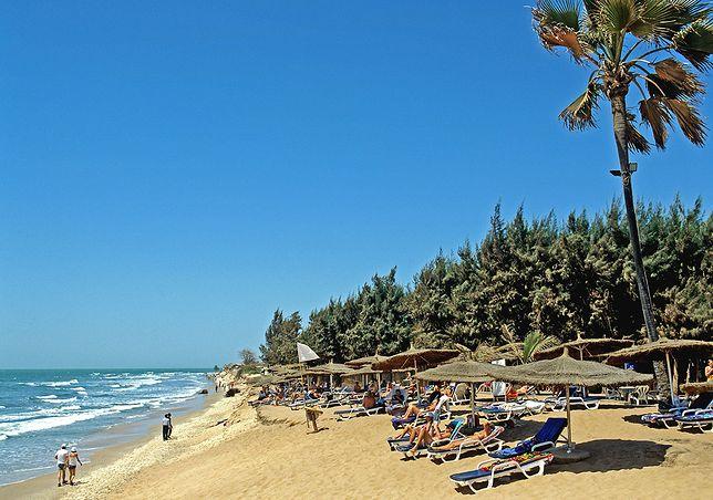 Plaża w Gambii. To w tym kraju pierwszą swoją kolonię założył Jakub Kettler