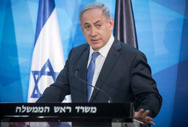 Netanjahu z nadzieją o rozmowie Abbasa z Trumpem