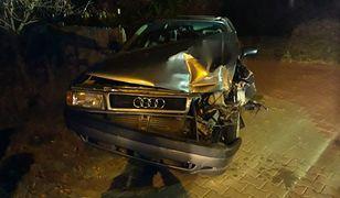 Śląskie: Pijany 22-latek mercedesem taranował samochody