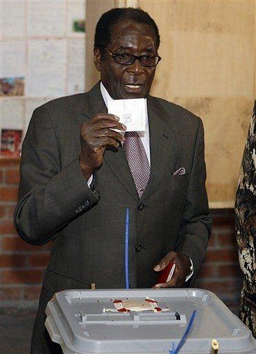 Robert Mugabe po raz szósty prezydentem Zimbabwe