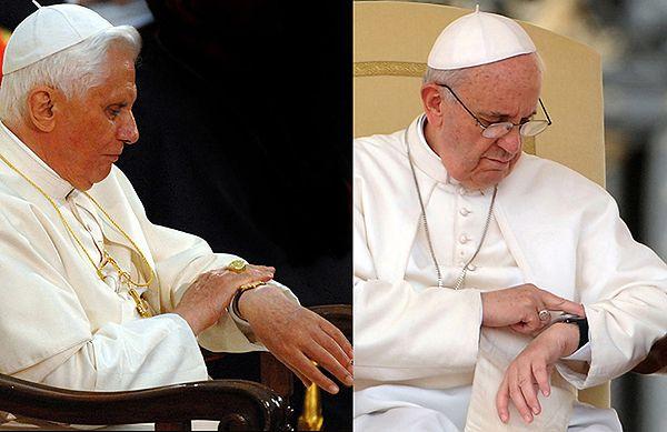 Papież Franciszek: zrobię to samo, co Benedykt XVI...