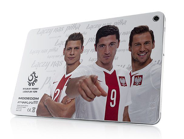 Oto oficjalny tablet piłkarskiej reprezentacji Polski. Koszt: 799 zł