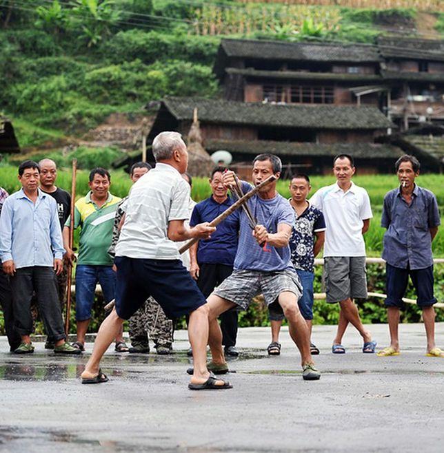 W tej miejscowości wszyscy znają kung-fu