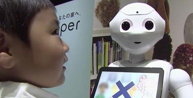 Robot do opieki nad dziećmi i osobami starszymi