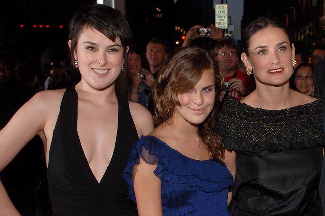 Demi Moore z córkami u Jady Pinkett Smith. Opowiedziały o piekle uzależnienia aktorki
